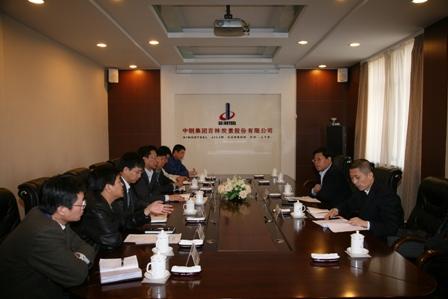 中钢股份有限公司副总经理宫敬升莅临中钢吉炭检查指导工作